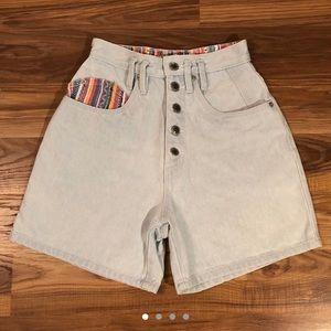 Pants - VINTAGE Rio by Stephen Mardon High Waisted Shorts